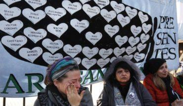 Argentina: familias de submarinistas protestan encadenadas