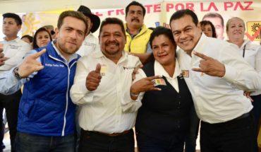 Cierre de campaña del candidato del PRD a la alcaldía de Los Reyes termina en balacera y golpes