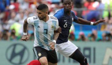 EN VIVO: Con un golazo de Di María, Argentina le empató a Francia