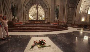 Gobierno de España exhumará los restos de Franco del Valle de los Caídos