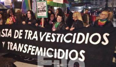 Las imágenes más impactantes de la marcha nacional en contra de travesticidios