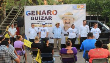 Llama Genaro Guízar a votar por los candidatos del Frente este primero de julio