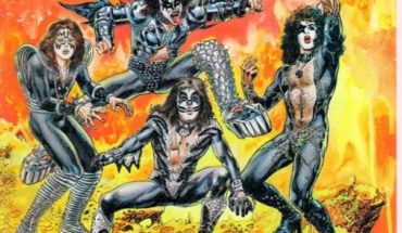 Mira el comic de Marvel dedicado a Kiss