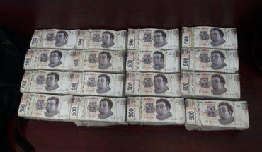 Nuevo decomiso de dinero en efectivo en la CDMX; ahora fueron 4 millones en la colonia Centro
