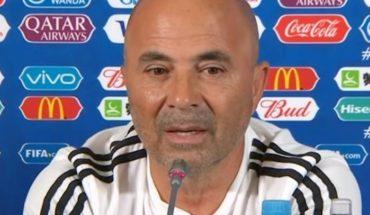 """Sampaoli juega al misterio y no confirmó el equipo para enfrentar a Francia: """"Pavón tiene chances de jugar mañana"""""""