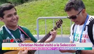 Le cantan a Carlos Osorio