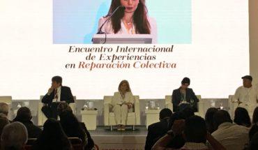 """  """"En #Suecia, #Colombia tiene un aliado para la #Paz y el desarrollo sostenible"""": Maria Jose Daza de @SwedeninCOL. #Exp..."""