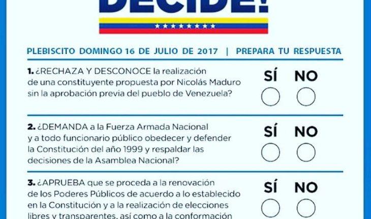 #16Juli gran fecha! Tal vez el último día donde pudimos tocar fugazmente la #democracia. El pueblo de #Venezuela elevó u...