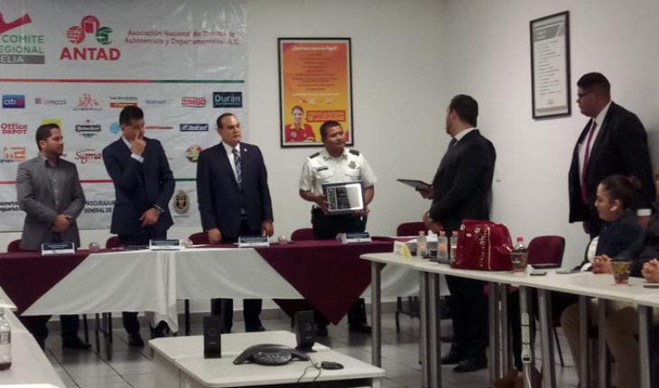ANTAD reconoce labores de prevención y reacción de la Policía de Morelia