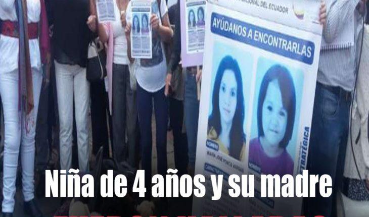 #ATENCIÓN   Madre y niña de 4 años, desaparecidas, el pasado 23 de junio, fueron halladas en #Perú.  ...