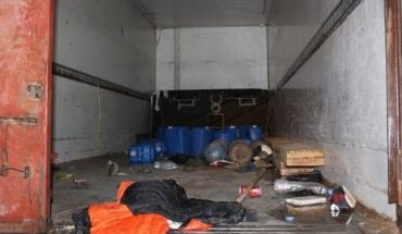 Al menos ocho migrantes murieron asfixiados en un camión frigorífico