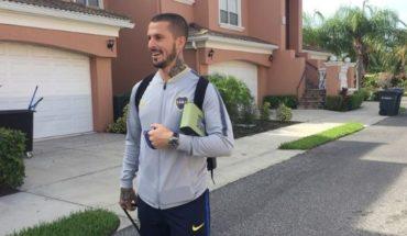 Alarma en Boca: Benedetto se volvió de Estados Unidos