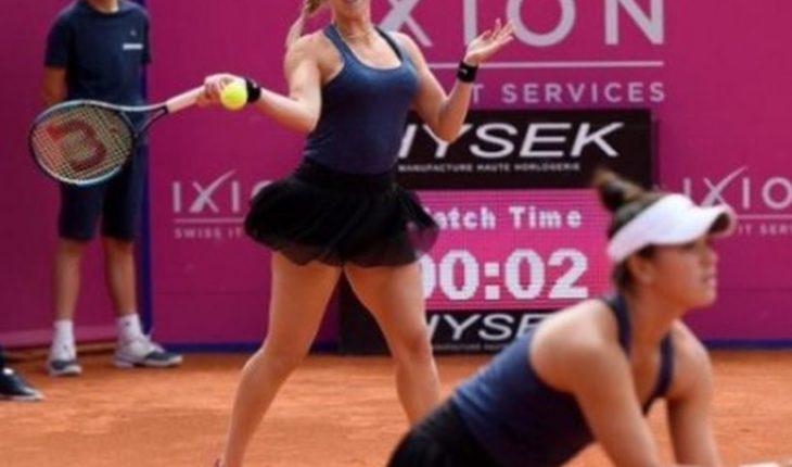 Alexa Guarachi logró importante ascenso en dobles tras ganar en Gstaad
