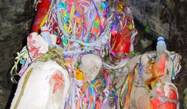 All mines in Bolivia have devilish statues of El Tio near the entrance. Each morning, miners offer gifts and prayers to ...