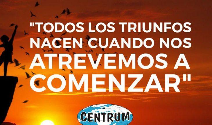 Aprovecha este #lunes como un nuevo comienzo, una nueva oportunidad!.  #CENTRUM #iniciodesemana #motivación #Paraguay ...
