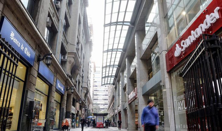 Banca chilena ganó US$ 2.003 millones en el primer semestre de 2018