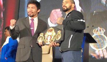 Boxeo | Lucas Matthysse-Manny Pacquiao: Día, horario y TV de una de las peleas del año
