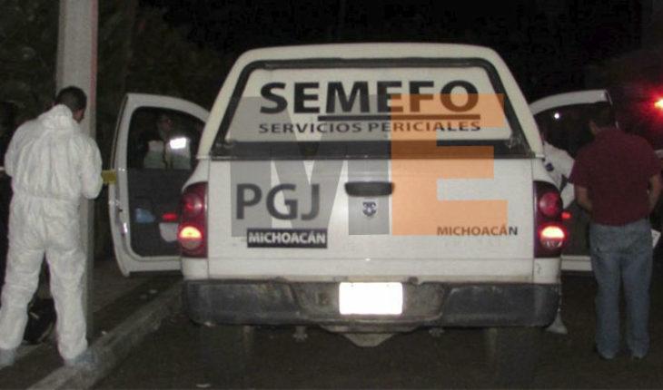 Camión del servicio colectivo atropella a un hombre y éste muere en Chilchota, Michoacán
