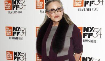 """Carrie Fisher aparecerá en el episodio IX de """"Star Wars"""" con metraje no usado"""