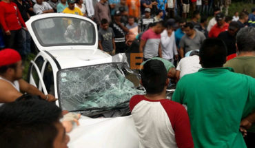 Choque entre auto y torton deja un muerto y tres heridos en Uruapan, Michoacán