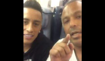 Christian Cueva fue insultado en un avión por perderse un penal en el Mundial