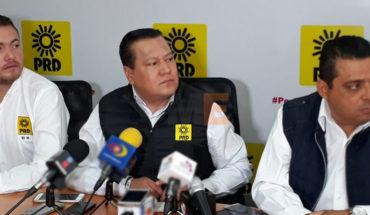 """Como """"irresponsable"""" califica el PRD la postura de Morena en tema de seguridad en Michoacán"""