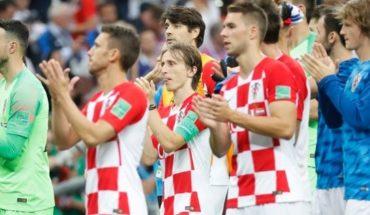 Con la frente en alto: los jugadores de Croacia se despidieron con orgullo de Rusia