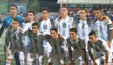 """Con los goles del """"Tanque"""" Gaich, el Sub-20 de Argentina le ganó a Murcia en L'Alcudia"""