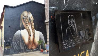 Crean circuito de arte para ciegos en el centro de Santiago