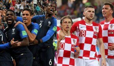 Croacia con historial negativo ante Francia