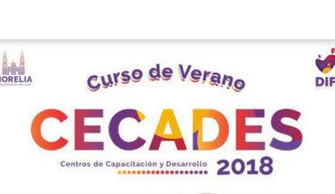DIF Morelia ofrece Cursos de Verano para niños y adultos en los CECADES