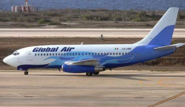 Desplome de avión en Cuba, por error humano: Global Air
