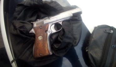 Detiene Policía Morelia a sujeto con posesión de arma de fuego