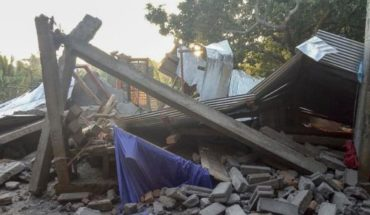 Difunden las primeras imágenes del potente terremoto en Indonesia