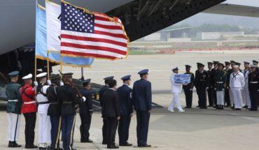 Donald Trump agradeció a Kim Jong-un por entregar los restos de soldados de la Guerra de Corea