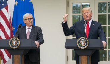 Donald Trump anunció acuerdo para evitar la guerra comercial con la Unión Europea