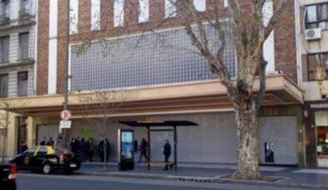 El Cine Gaumont estuvo cerrado y desde ATE cruzaron al Gobierno