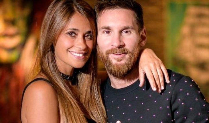 El look elegido por Lionel Messi y Antonela Roccuzzo para celebrar la boda de Cesc Fábregas