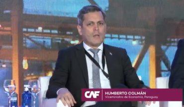 El viceministro de Economía, @HArielCol, participó de la Conferencia @AgendaCAF sobre Infraestructura para la Integració...