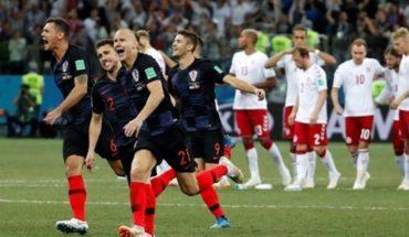 En los penales y tras un final para el infarto, Croacia le ganó a Dinamarca y se metió en cuartos de final