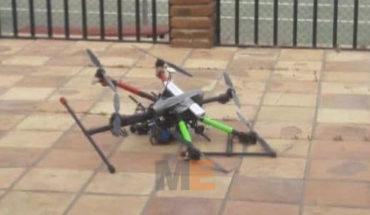 En propiedad del Secretario de Seguridad Pública de Baja California, cae dron con granadas