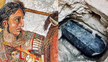 Encuentran un sarcófago que podría contener los restos de Alejandro Magno