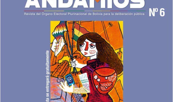 """Este jueves 19 de julio de 2018 se llevará acabo la presentación de la Revista Andamios 6 """"Jóvenes y democracias en la #..."""