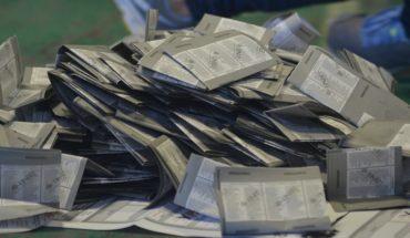 77% de los paquetes de la elección presidencial, con posibilidad de recuento, estima el INE