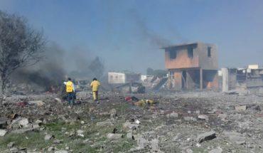 Explosión en polvorín deja 12 muertos y 10 heridos en Tultepec, Edomex