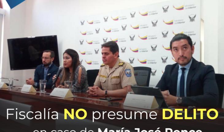 Fiscalía no presume delito tras la localización en Perú de María José Ponce y su hija Lirio Sofía.  Lee la nota completa...