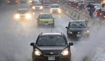 Fuertes lluvias para esta noche en Durango, Michoacán y Jalisco