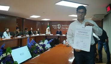 Gobernador electo de Jalisco envía a representante a recibir constancia de mayoría