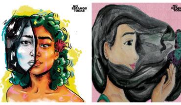 Detrás de cada feminicidio hay una historia: ilustradores dan rostro a las víctimas para honrar sus vidas