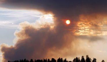 Impactantes imágenes del devastador incendio en Suecia